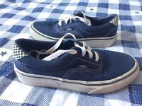 Boys blue 'Vans' size 1.5