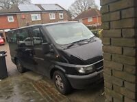 9 seater ford tourneo