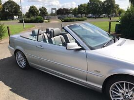 Stunning BMW 3 series Convertible
