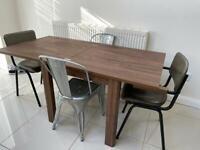 Next walnut furniture - Table / Side Unit / Cabinet