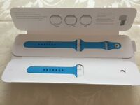 Brand new Apple Watch sports Band 38mm Pale Blue