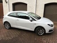 Seat Ibiza Sport Coupe 61 plate white great condition