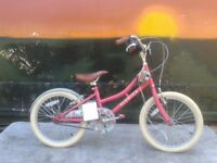 Brand New Factory Soiled Elswick Harmony 18 Inch Girls Heritage Bike - RRP £169.99