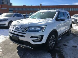 2017 Ford Explorer TOP OF THE LINE PLATINUM, 0%!