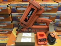PASLODE IM350 FIRST FIX NAILER COMPLETE WITH BATTERIES ETC. TOOL HAS BEEN SERVICED