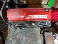 Garage space heater diesel