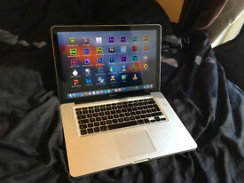 "MacBook Pro 15"" Quad Core i7 3.3GHz 8GB/16GB RAM 500GB or 1TB/2TB SSHD + ADOBE, LOGIC,FCP, WORD"