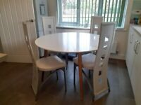 Tretton Dining Table and 4 Chairs