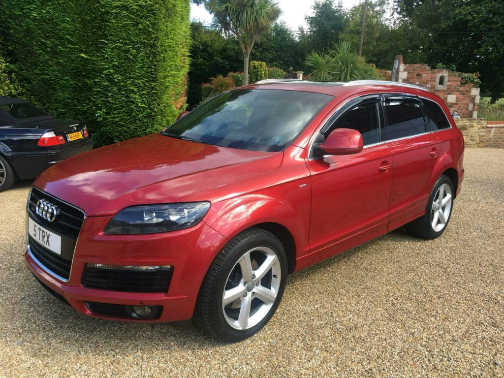 Audi Q7 Tip S Line 7 Seats - Fsh - Lovely Car - Hpi Clear   in