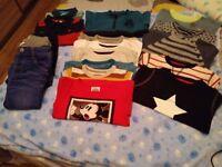 17 Piece Baby Boys Clothes Bundle 9-12 months
