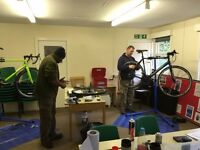 FREE Bicycle Maintenance Courses near Cannock Chase in Staffordshire
