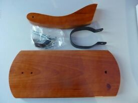 New wooden gondola serrano ham holder/carving stand/unused