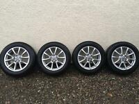 Audi Q5 wheels with winter tyres 18inch