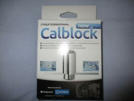 NEW Professional CALBLOCK for limescale prevention in Washing Machines & Dishwashers,