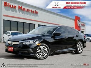2017 Honda Civic LX Sedan w Winter Tires