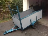 Car Trailer. Ideal for Camping etc
