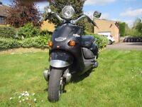 125 cc. Aprilia Mojito Custom Scooter