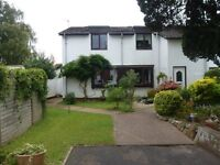 One bedroom House to let in Central Topsham near to all public transport