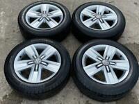 """17"""" VW Transporter Davenport Alloy Wheels & Tyres 5X120 SET 2"""