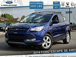 2014 Ford Escape **SE*AWD*NAVI*CAMERA *CRUISE*A/C**