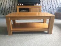 Solid oak living-room furniture
