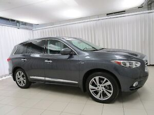 2014 Infiniti QX60 AWD DELUXE PACKAGE WITH DVD!!