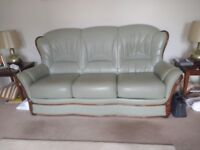 Pair of Leather Sofas