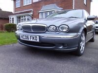 Jaguar X-Type SE 2.2D 2006 Full Leather 102 000m New Tyres. Top Jag Spec.