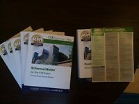 Schweser CFA Level 1 2016 Complete Set London Bridge/Borough/Canary Wharf