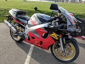Gsxr600srad 1998 micron exhaust