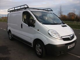 'NO VAT' 2012 VAUXHALL VIVARO 2.9T 2.0 ONE OWNER FROM NEW