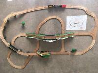 Melissa & Doug Mountain Railway wooden train set