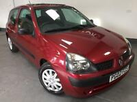 Renault Clio Expression 1.2 Petrol 36,000 Miles/ Long M.O.T (No Advisories)/ SH incl Timing belt