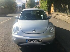 VW silver Beetle 55 plate good condition