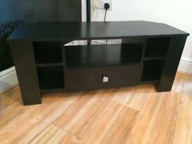 Black TV corner cabinet stand - great condition - bargain price if sensible offer.