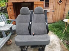 Ford Transit mini bus seats