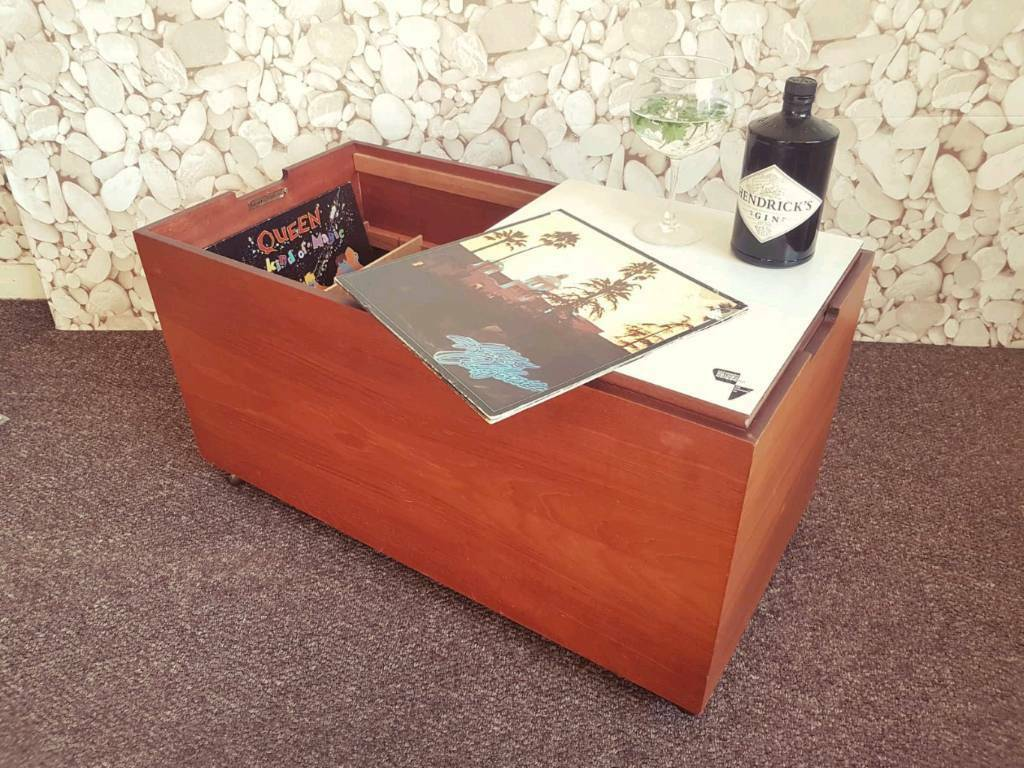 Myers Trolley Box Record Cabinet Coffee Table Storage Drinks Cabinet Vintage Retro Mid Century In Great Sankey Cheshire Gumtree