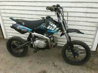 Welsh pit bike stomp yx125 cc possible uk delivery