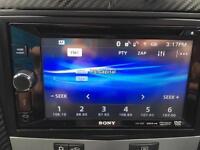 Sony xav-68BT double din dvd/usb/Bluetooth/aux head unit/stereo in box