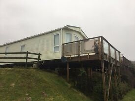SOLD BUT OTHERS AVAILABLE Pemberton Marlow at Lydstep Beach Village, stunning park set on the beach