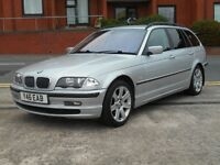 2001 BMW 330d ESTATE + NEW MOT + FULL LEATHER +