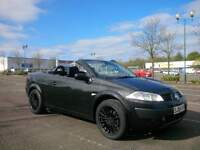 Renault Megane Convertible 72000 miles Full Service History New MOT Nice And Clean NO FAULTS