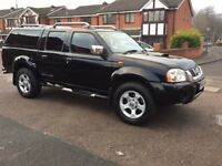 NISSAN NAVARA OUTLAW D22 4X4 FULLY RECONDITIONED ENGINE 3MONTHS ENGINE WARRANTY 12 MONTHS MOT