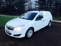 09 plate Vauxhall astra van 1.3 cdti in excellent condition 1 owner long mot till august 2017