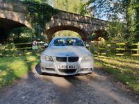 BMW 320D M SPORT + AUTO + LEATHERS + FSH + LONG MOT ***BARGAIN***