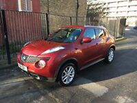 2011 NISSAN JUKE TEKNA 1.6 DIG-TURBO RED DAMAGED SALVAGE REPAIRABLE - TOP SPEC