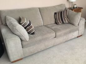 Large two seater sofa - Good quality - bought from Glasswells