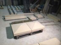 Stone heads, cills, coping etc pre-cast Concrete