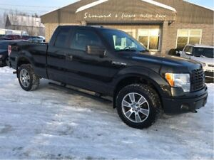2014 Ford F-150 STX 4X4 6 PASSAGERS 5.0 LITRE