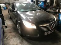Vauxhall insignia 2009 Breaking For Spares parts black 160
